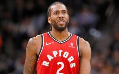 Kawhi Leonard played for the Spurs in 2011 through 2017 before being traded to the Toronto Raptors