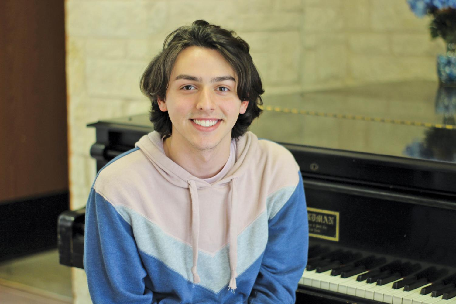 Basil Moreau Hall residents may recognize Fuentes for his piano playing and singing voice. He enjoys playing during afternoons in the BMH lobby to other residents.