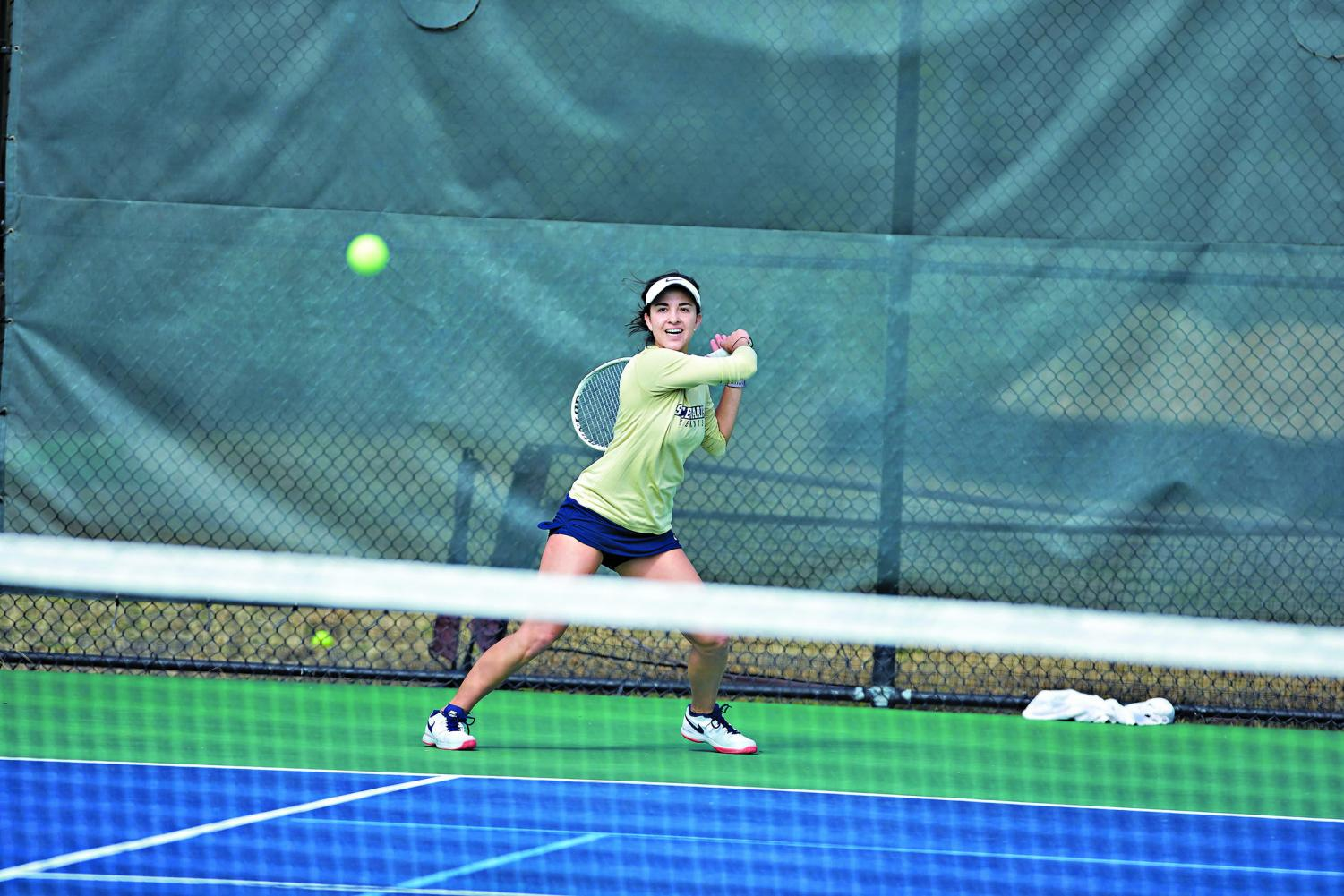 Pao Carpio left her mark on the women's tennis program as her athletic legacy led to national recognition.