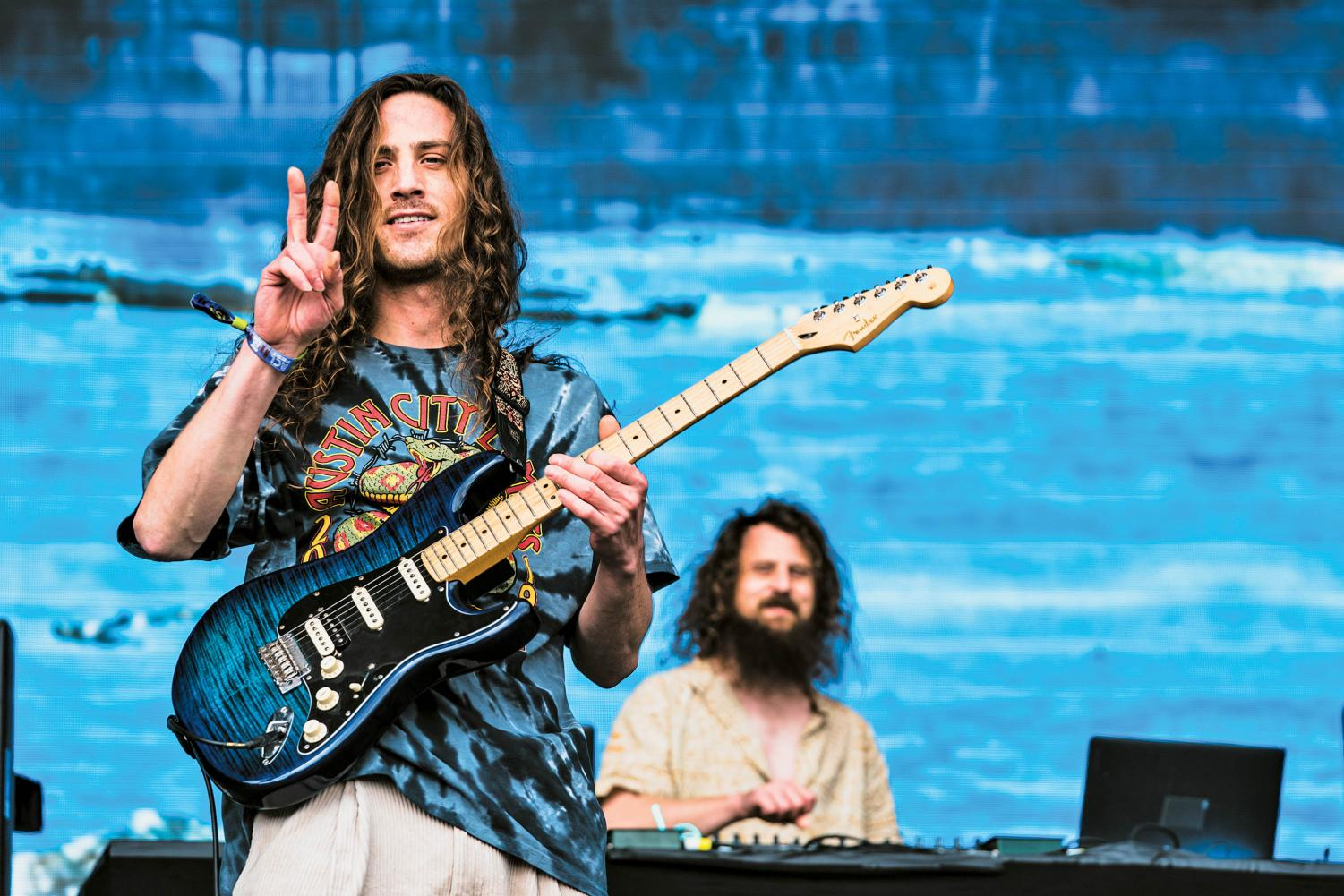 Music duo Hippie Sabotage includes siblings Jeff (left) and Kevin (right) Saurer. The two started playing music professionally back in 2005.