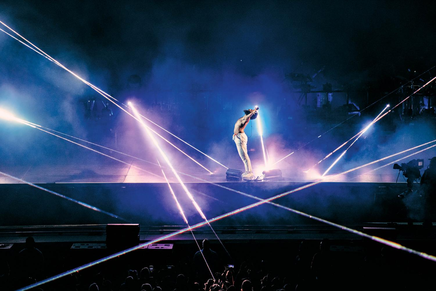 Childish Gambino's Austin City Limits set marked the end of his last live tour using the pseudonym. There is currently no plan for the unreleased songs Gambino peformed during the tour.
