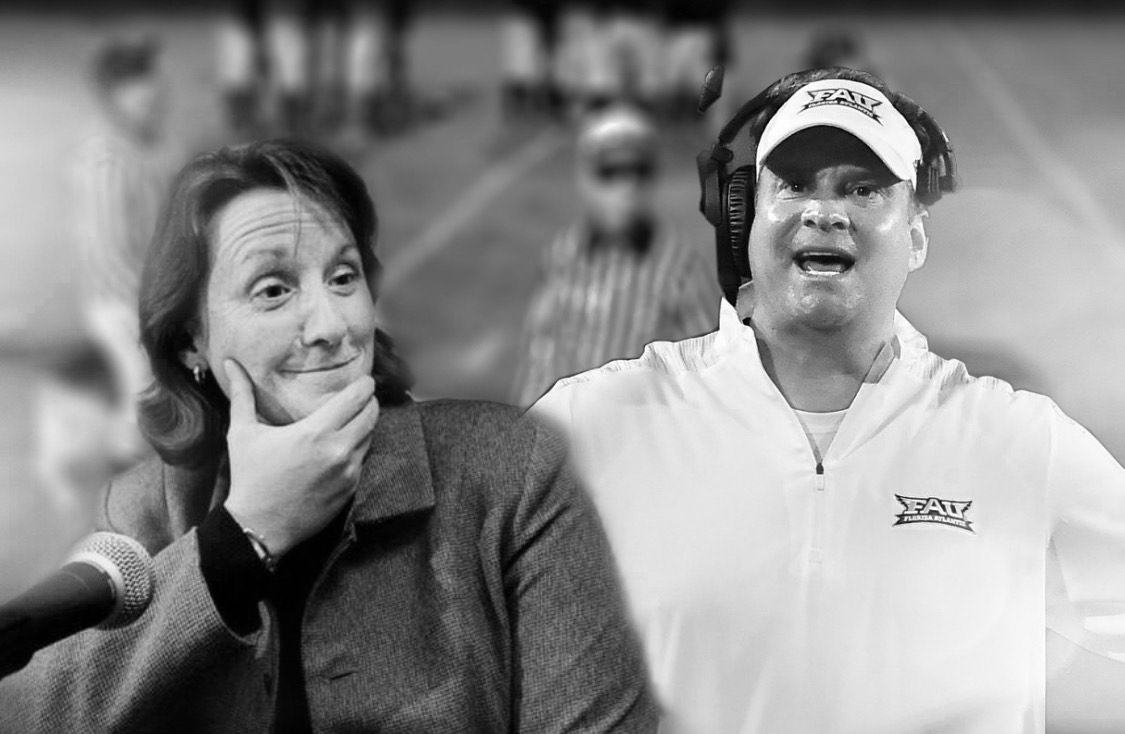 Judy Macleod has served as the Commissioner of Conference USA for four years. Her authority should be respected by those attending the conference, including Florida Atlantic football coach Lane Kiffin.