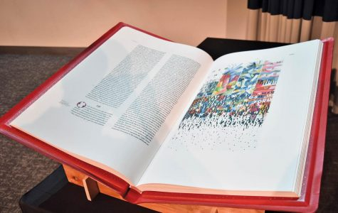 Lecture series examines Saint John's Bible with visual art, discussion