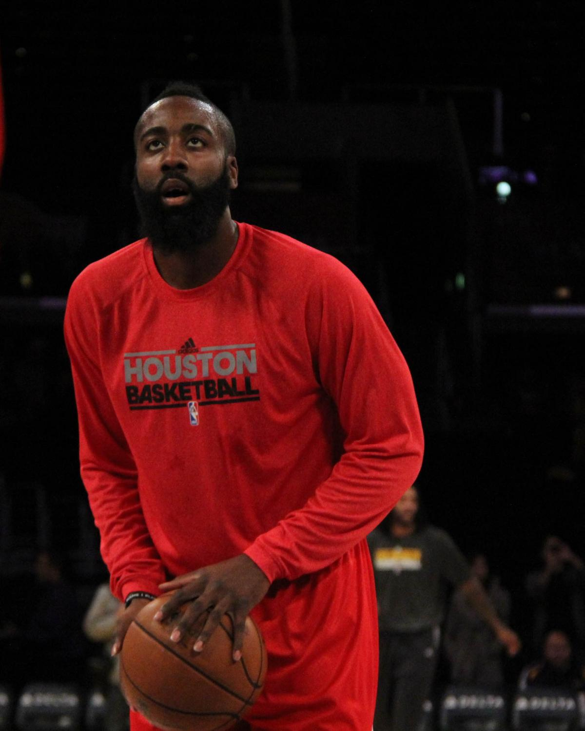 Houston Rockets All-Star James Harden apologizes for the team's recent controversy with China.