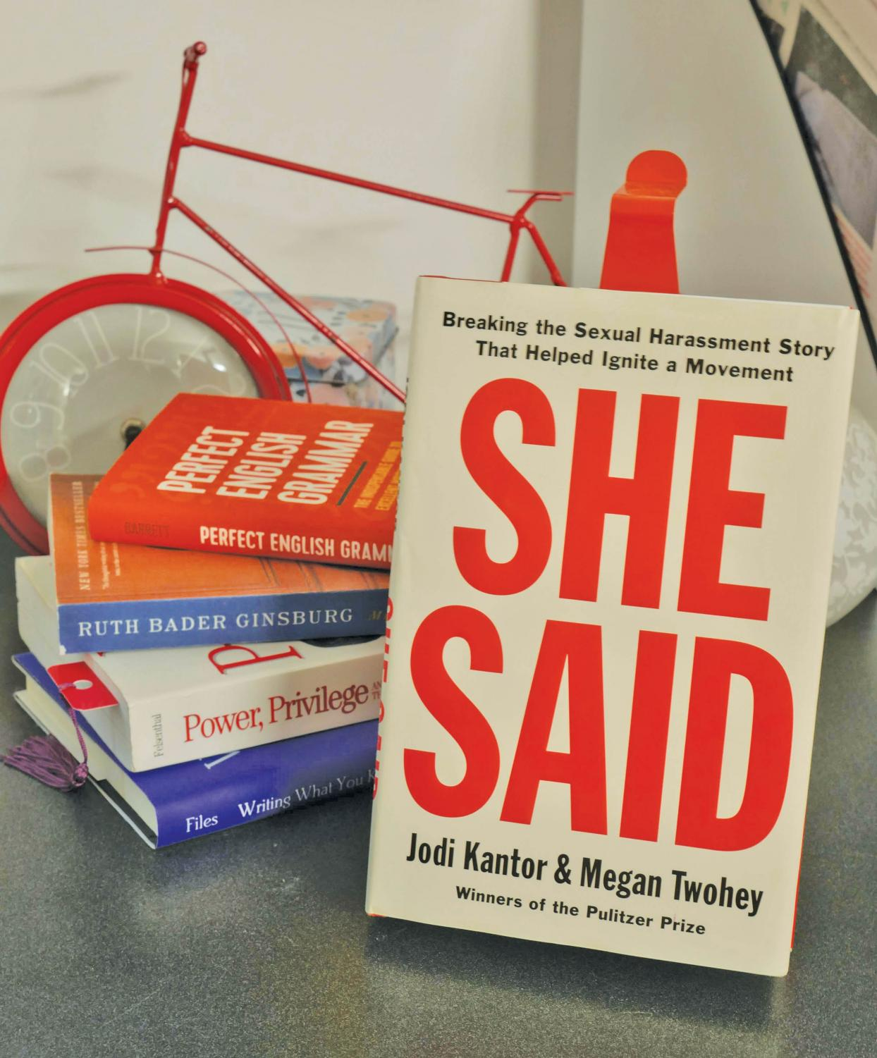 'She Said' was released Sept. 10 to rave reviews. Both Kantor and Twohey are New York Times reporters.