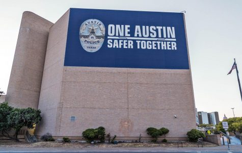 The Austin Police Department headquarters is located in Downtown Austin on East 8th Street.