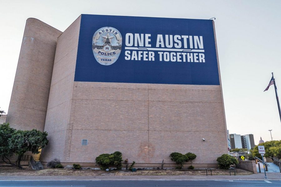 The+Austin+Police+Department+headquarters+is+located+in+Downtown+Austin+on+East+8th+Street.