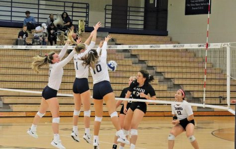 Volleyball extends win streak, defeats TAMU Kingsville, TAMIU