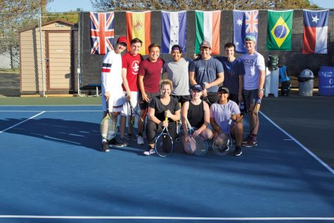 As one of the only co-ed club sports on campus, club tennis emphasizes unification and positivity to its members.