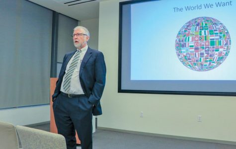 CEL speaker stresses international focus in university programs, culture