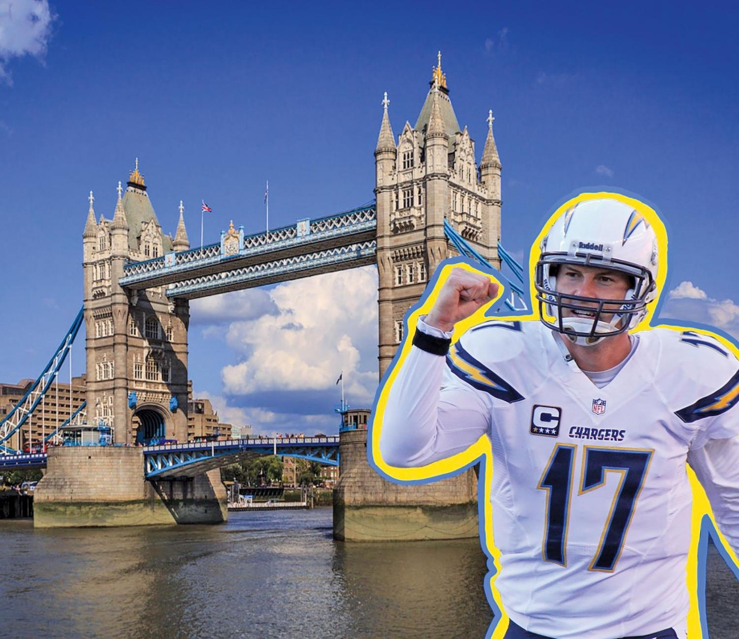 Just two years since relocating to L.A., the Chargers are reportedly considering a move once again, this time to London.