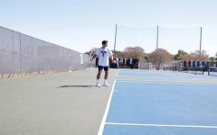 Tennis, teaching and touring Austin: Meet junior student-athlete Luis Diaz