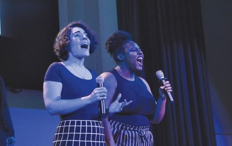 The theme of the night was musicals released in the millenium, some of which include 'Wicked,' 'Newsies,' American Idiot' and 'Seusical.' Check out performances by the music department at the Festival of Light on Dec. 6.