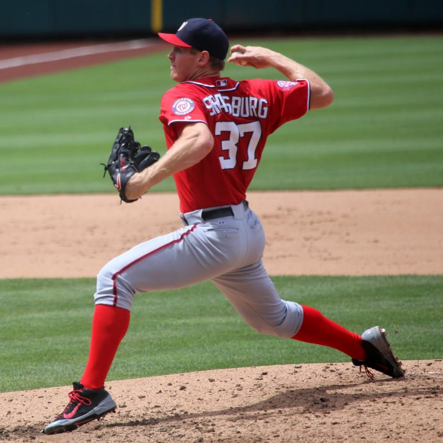 Nationals pitcher and World Series MVP Stephen Strasburg's elite pitching was key in championship victory over Astros.