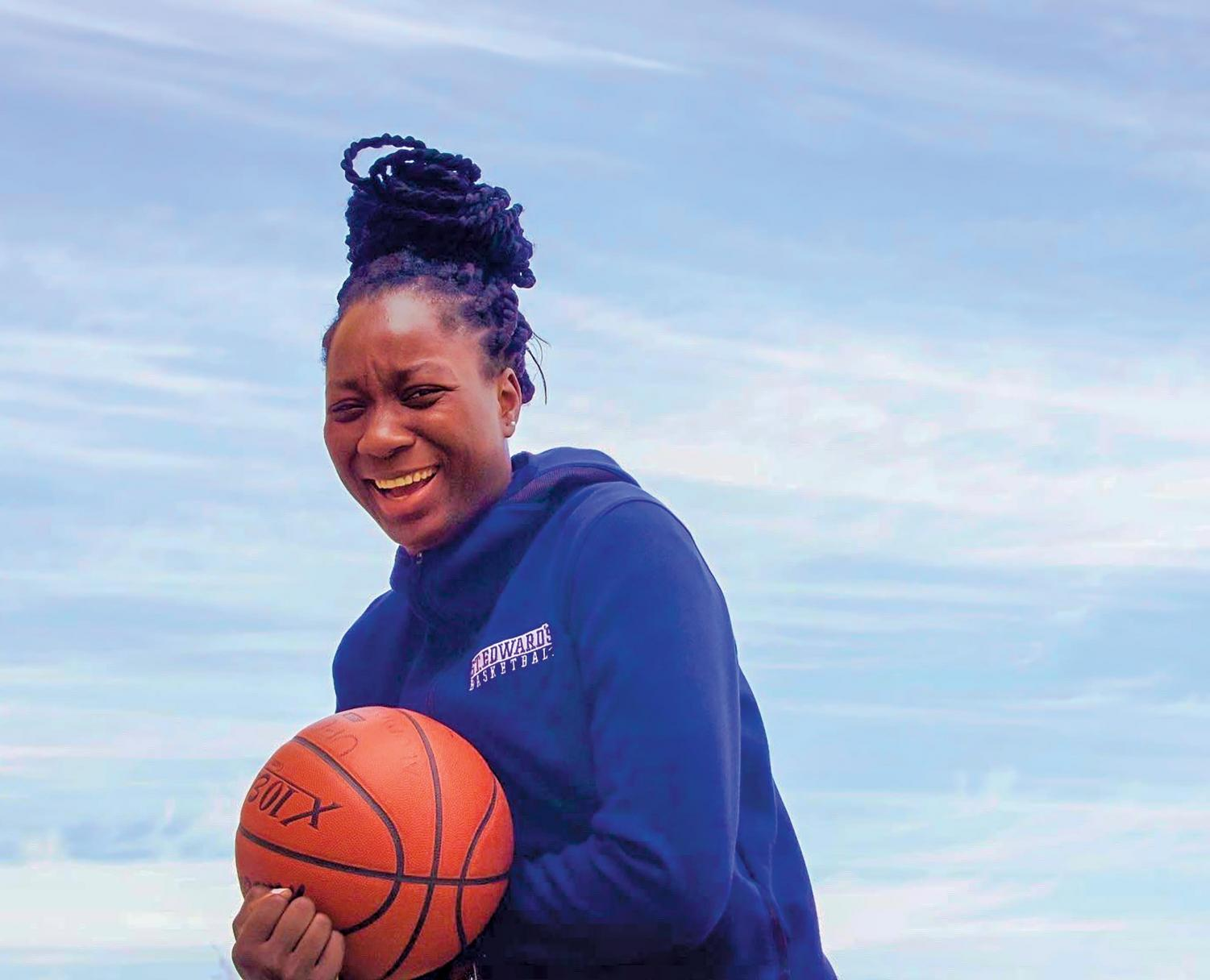 Originally from Nigeria, junior center Phydel Nwanze has spent the past few years adjusting to life in America. She chose to move to the U.S. to pursue a college degree and continue playing basketball.