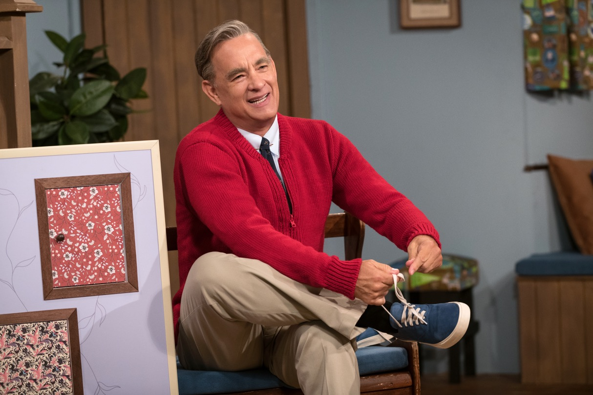 Tom Hanks stars as Fred Rogers in 'A Beautiful Day In The Neighborhood.' Rogers passed away in 2003 from complications of stomach cancer.