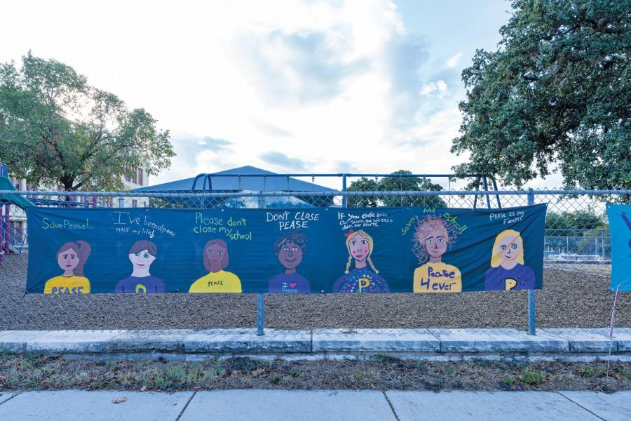 Pease Elementary is the oldest continually-operating school in Texas. The AISD school board voted to close it along with Metz, Brooke and Sims.