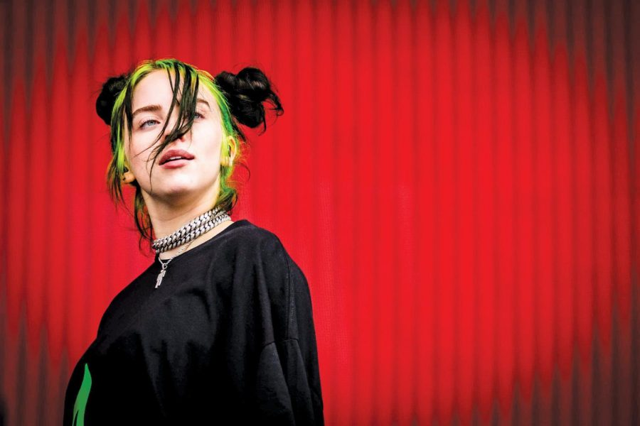 Billie Eilish was nominated for six Grammys and won five, including Best Album, Best Song, Best New Artist, Best Pop Vocal Album, and Best Pop Solo Performance.