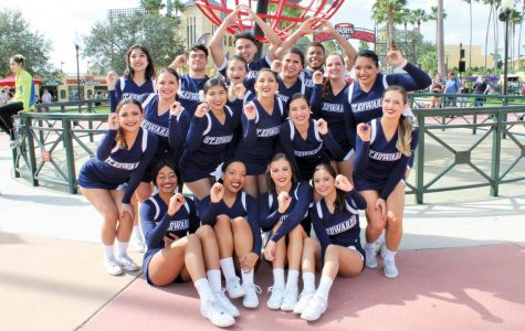 SEU cheer finishes 9th place in nationals, senior earns local award