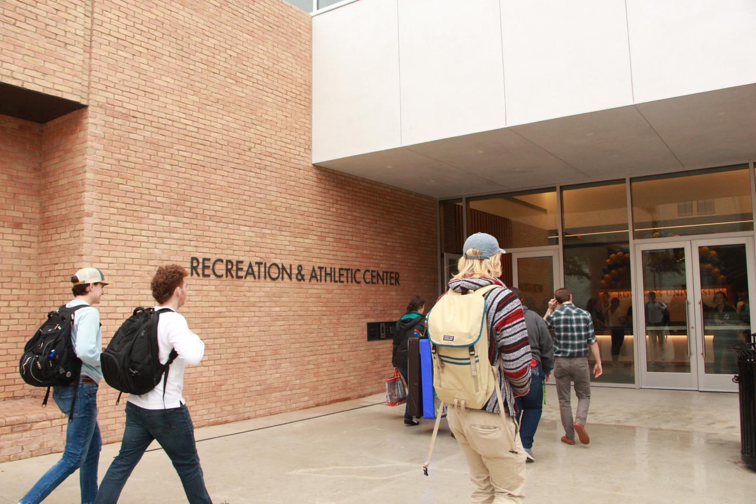 The Recreation and Athletic Center opened on Jan. 13 at 7 a.m. The RecWell staff was preparing for the grand opening at several days' worth of trainings the week before.