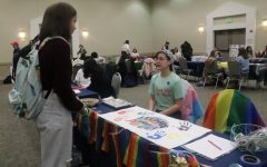 Students gather in Ragsdale Center to learn about clubs offered on campus at annual Involvement Fair