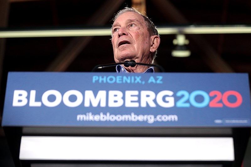 Bloomberg officially announced his presidential candidacy on Nov. 24, 2019. He spent roughly $188 million during the first few weeks of his campaign, according to a spending report filed with the Federal Elections Commission.
