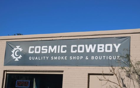 Currently, the sale of CBD is legal in Texas, while the sale of marijuana remains illegal. Cosmic Cowboy is a smoke shop and boutique on South Congress Avenue that sells a variety of CBD products and smoking accessories.