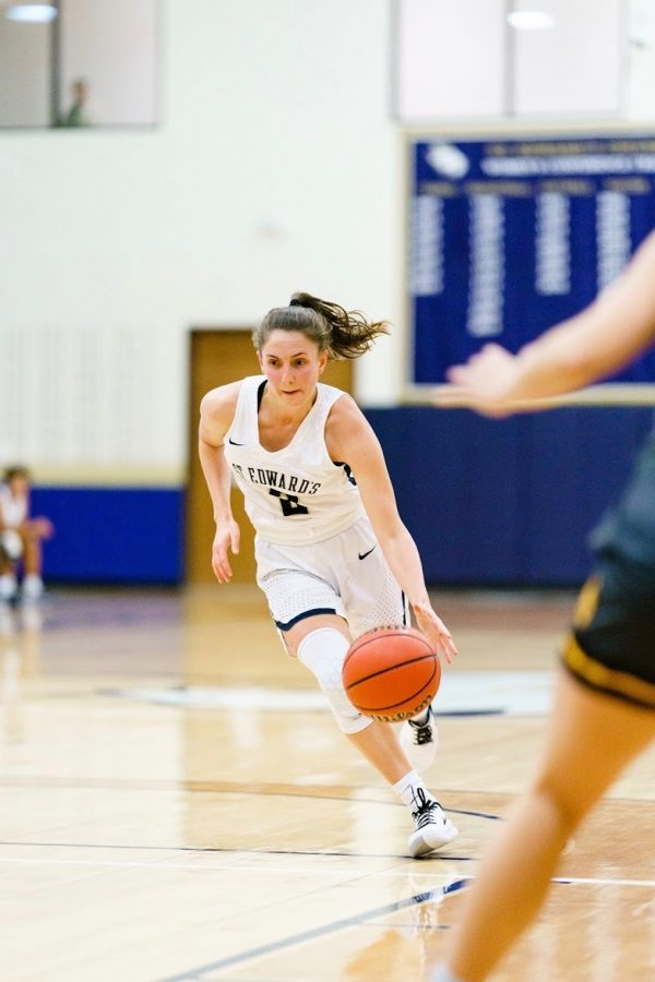 Through her career at St. Edward's, senior guard Lexi Cunnigham has been a contributing piece to the women's basketball team. Cunningham has a career-high 19 points and is a member of the 2017 Heartland Conference champions.