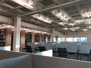 The St. Edward's library has multiple options for students to find peace and quiet. It takes an average of 66 days to form a habit, according to Psychology Today.