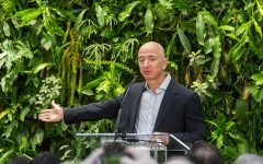 Jeff Bezos masks destructive practices with promise to 'go green'