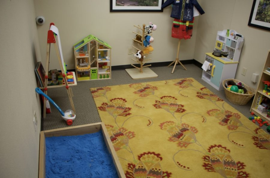 The+Community+Counseling+Center+is+home+to+several+patient+rooms+for+families+and+couples.+This+room+is+a+children%E2%80%99s+center+featuring+a+play+area+with+various+toys.