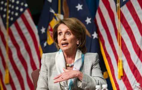 Speaker of the House Nancy Pelosi listened to Trump's State of the Union address from behind him. The highlight of the night was when Pelosi was seen tearing Trump's speech after he concluded.