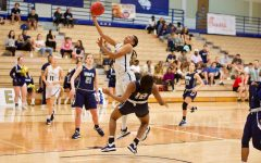 St. Edward's women's basketball beats UAFS 78-59 in LSC tournament first round; Blanks scores 30