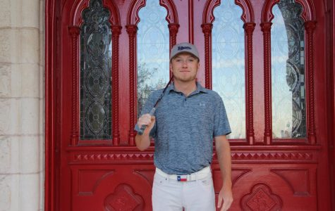 Ryan McGinley is a key member of the men's golf program on the Hilltop. The team entered the season with a national ranking of 18 and will compete in Oklahoma this week.