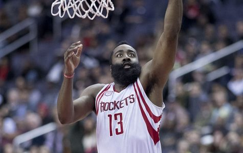 Prior the the season's cancellation, Rockets star guard James Harden led the league in scoring with 34.4 points per game.