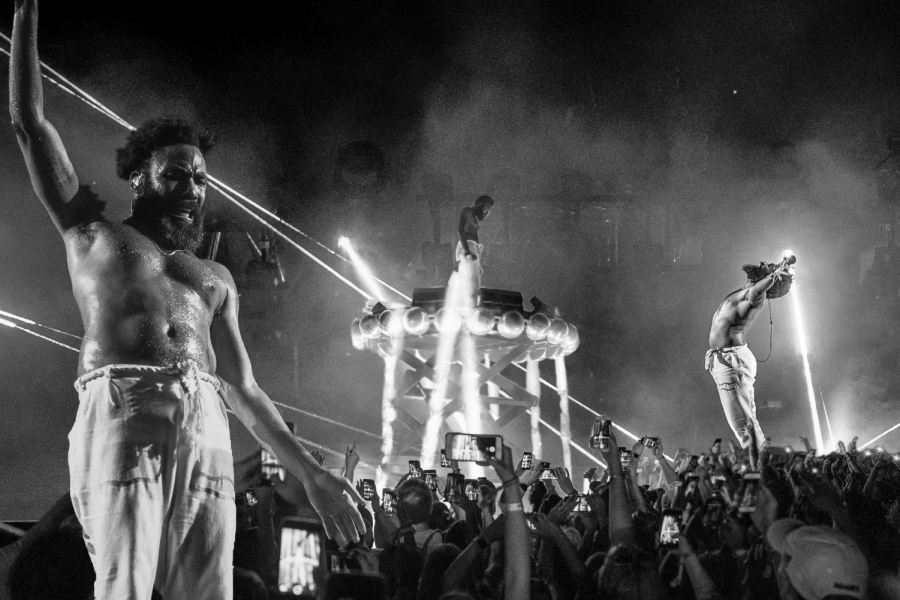 Childish Gambino performs during his This Is America tour. The tour concluded during Austin City Limits weekend two.
