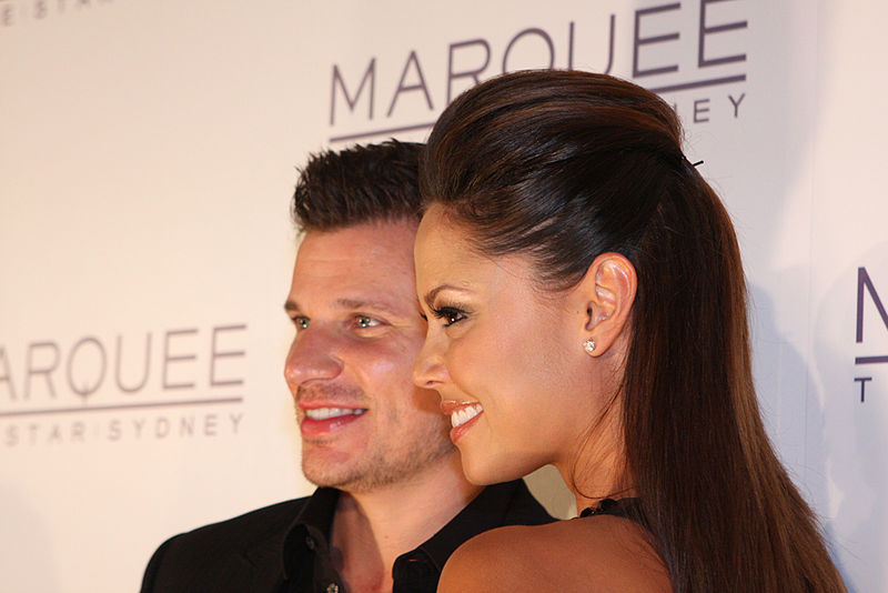 'Love is Blind' hosts Nick and Vanessa Lachey pose outside of a night club opening in Sydney, Australia. While not confirmed by Netflix, show creator Chris Coelen is hoping the streaming giant will renew it for more seasons.