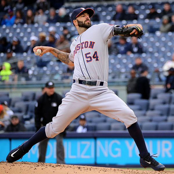 Astros right-handed pitcher Roberto Osuna has played two seasons with the Astros and has a career 2.75 ERA. He is in the pitching rotation for the controversial Houston Astros.