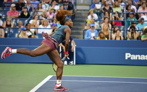 Serena Williams serves during a 2013 US Open match at Flushing Meadows, New York. She is the most accomplished tennis player of the open era — male or female — with 23 Grand Slam titles to her name.