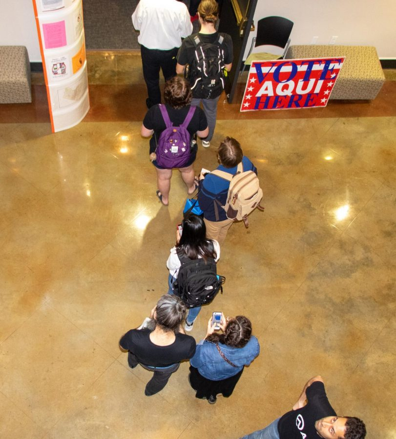 In Texas, the turnout for voters during Super Tuesday rose from more than 1.4 million. St. Edward's set up voting stations in Jones Auditorium which was open to the Austin community.