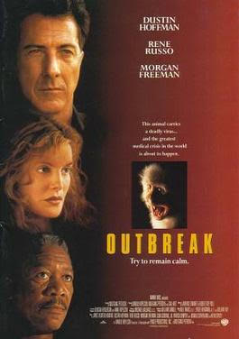 'Outbreak' was first released in theaters back in 1995. The film was a box office success, grossing $122,200,000 internationally.