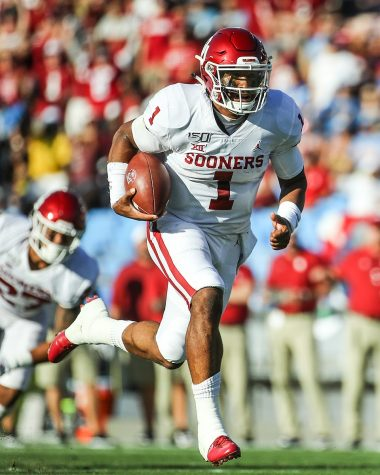 As one of the more intriguing prospects heading into the draft, former OU quarterback Jalen Hurts was surprisingly taken by the Eagles despite them already having their franchise quarterback in Carson Wentz.