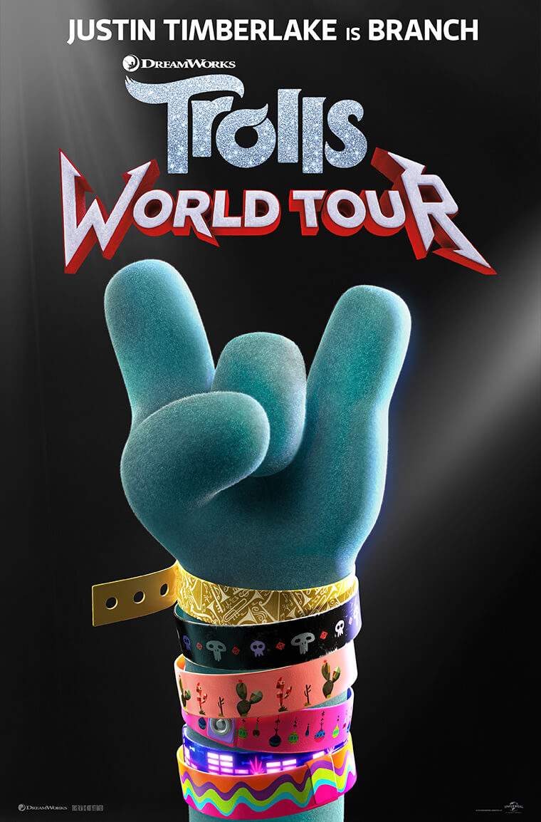 Trolls World Tour falls flat compared to other streaming