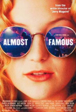 'Almost Famous' was originally released on Sept. 8, 2000 by DreamWorks Pictures. It grossed $2.3 million during its opening weekend.