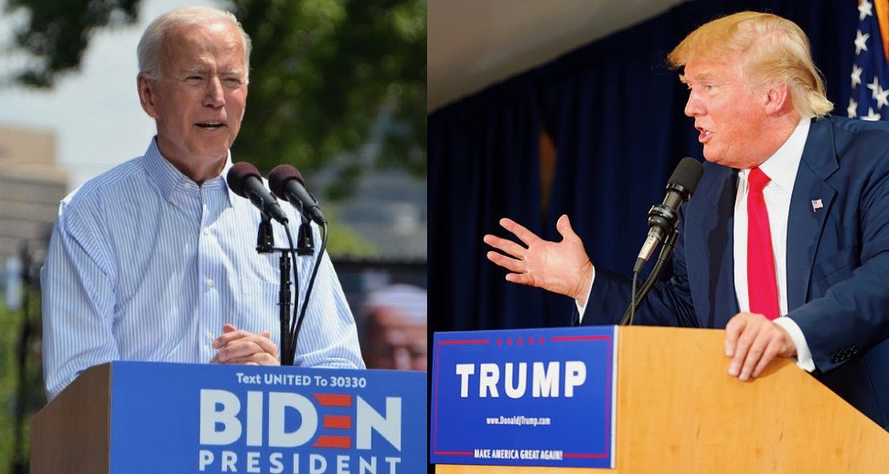Joe Biden leads Donald Trump in six key 2020 swing states, according to a new CNBC/Change Research poll.