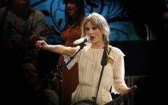 Taylor Swift performing during the Speak Now World Tour. 'Speak Now' and 'Red' were the last albums to be nominated at the ACMs.