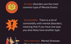 Mental illnesses are more common than most people think, as seen in the infographic. The Health and Counseling Center is one of the many places where St. Edward's students can receive treatment.