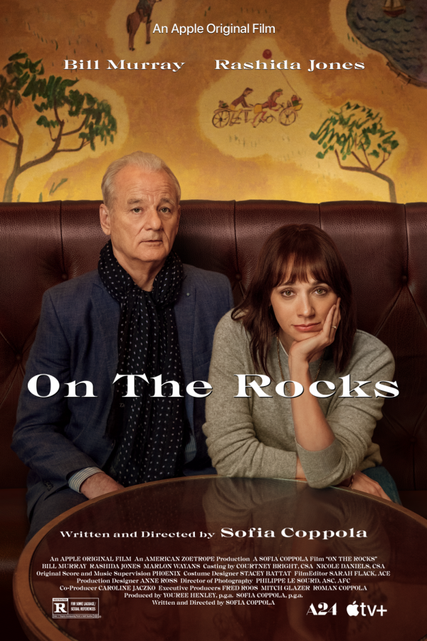 'On the Rocks' originally premiered at New York Film Festival on Sept. 22. This is the first film produced under the partnership between A24 and Apple TV.