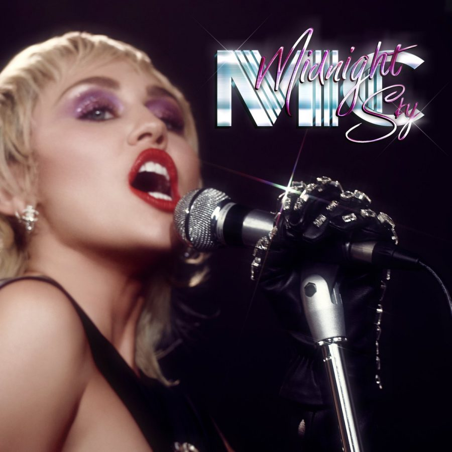 'Midnight Sky' was released on Aug. 14 and has since garnered nearly 50 million streams on Spotify. Cyrus self-directed the the single's music video.