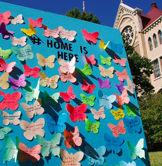 Many of St. Edward's Hispanic students fear their safety as a large demographic affected by the virus. Monarchs on the Hilltop is dedicated to creating a safe and inclusive community for undocumented students & students from mixed-status families as they cope with the pandemic.